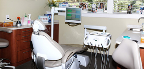 The room where we perform professional teeth whitening in Commerce Township, MI